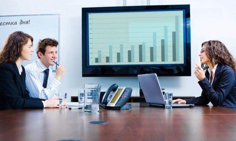 Бухгалтерские операции в управленческой компании